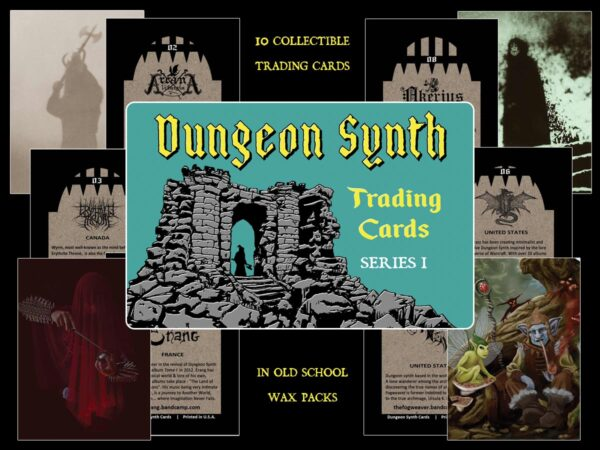 Dungeon Synth Trading Cards Series 1 waxwrappers.com