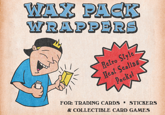 Wax Pack Slideshow wax wrappers